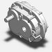 Double Reduction Gearbox 3D Model